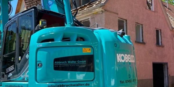 Abbruch Wohn & Geschäftshaus Wendelsheim