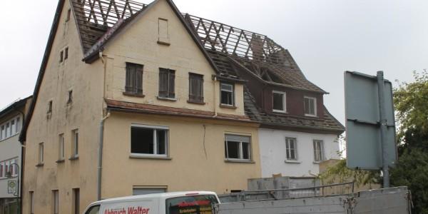 Abbruch Wohnhaus