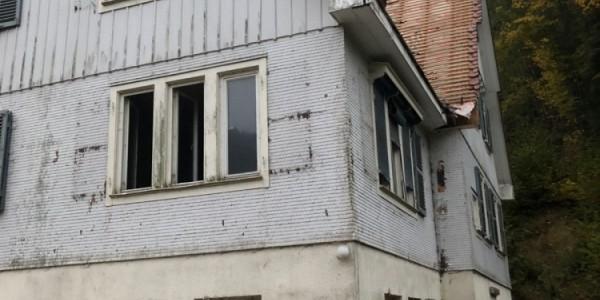 Teilabbruch Wohnhaus